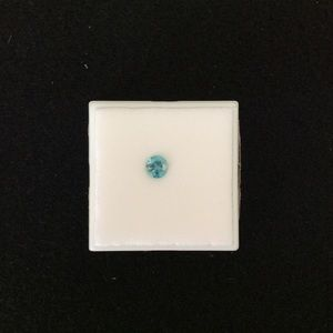 NWT Loose Approx: 0.65CT Natural Blue Zircon